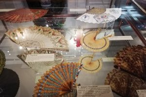 Exhibition display of fans