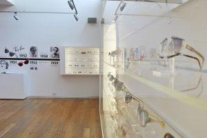 Exhibition display of eyewear
