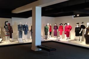 exhibition display of dress